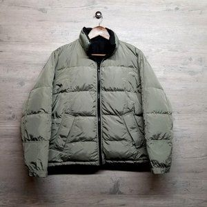 Woolrich 100% Down Reversible Jacket. Brand New!